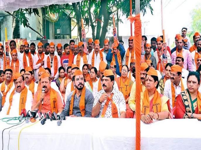 Maharashtra Election 2019: Shiv Sena desperate, Breach to 'coalition' in Nashik!   Maharashtra Election 2019 : नाशकात 'युती'त दुभंग, शिवसेना हतबल !