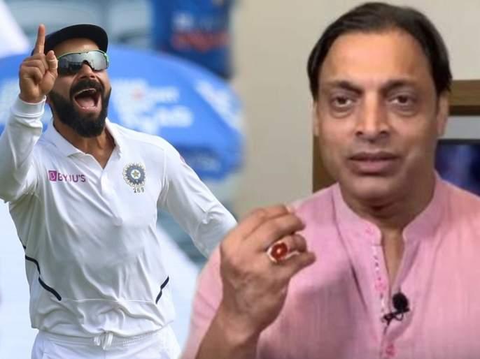 Video : Shoaib Akhtar claims Virat Kohli took Pakistan's 'attitude' and started winning   Video : पाकिस्तानची रणनीती वापरून विराट मिळवतोय विजय; शोएब अख्तरचं भारी 'लॉजिक'