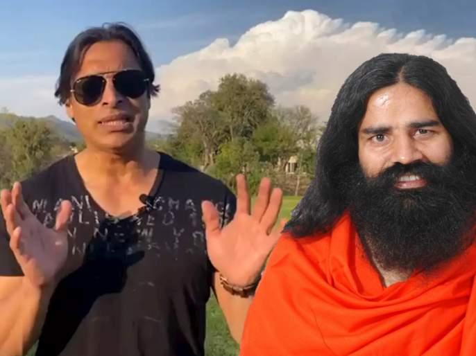 Video: Shoaib Akhtar give Tips to Fight against Corona Virus svg   Video : शोएब अख्तर देतोय कोरोनाशी मुकाबला करण्यासाठी बाबा रामदेव यांच्या टिप्स