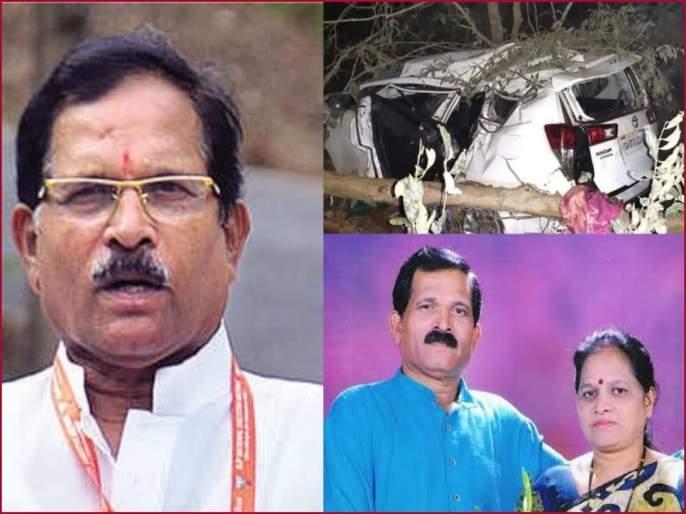 Two successful surgeries on Shripad Naik in Goa; Dr. deepak Ghume of latur expired   श्रीपाद नाईकांचे पीए सुखरुप; सोबत असलेल्या लातुरच्या डॉक्टरांचे अपघातात निधन