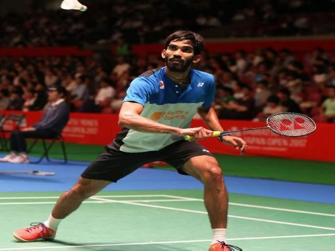 Korea Open Badminton: Kidambi Srikanth, Sameer in Second Round   कोरिया ओपन बॅडमिंटन: किदाम्बी श्रीकांत, समीर दुसऱ्या फेरीत