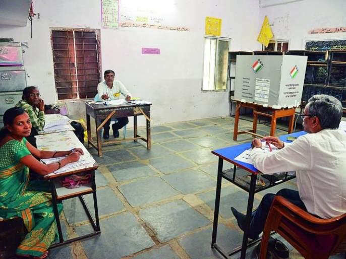 Maharashtra Assembly Election 2019: Percentage decline in Nagpur | Maharashtra Assembly Election 2019 : नागपुरात टक्केवारी घटली, धाकधूक वाढली