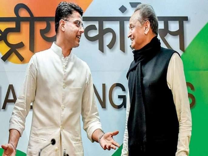 Crisis on Congress government again in Rajasthan ?; Sachin Pilot supporters Demand cabinet expand   काँग्रेस सरकारवर पुन्हा संकट?; सचिन पायलट समर्थकांमुळे मुख्यमंत्र्यांची डोकेदुखी वाढली