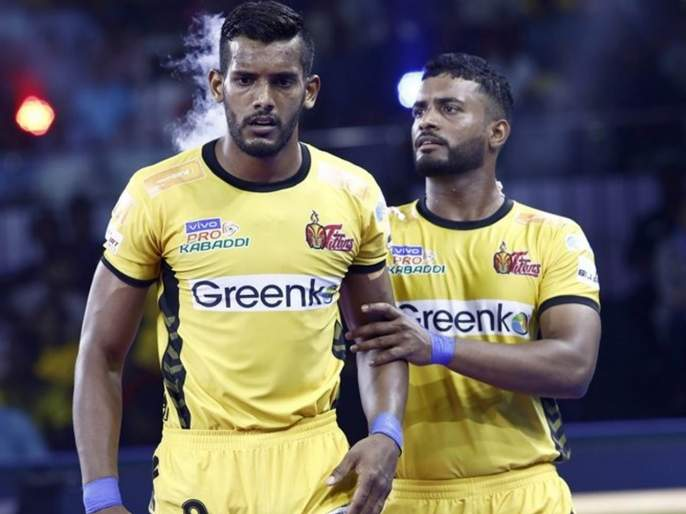 'Baahubali' Siddhartha hits Haryana, a brilliant victory for the Telugu Titans | 'बाहुबली' सिद्धार्थचा हरियाणाला दणका, तेलगू टायटन्सचा शानदार विजय