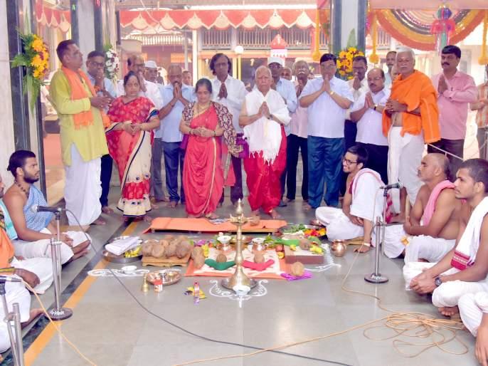 Paramhans Bhalchandra Maharaj's death anniversary celebrations begin in a spirit of atmosphere | परमहंस भालचंद्र महाराज यांच्या पुण्यतिथी महोत्सवास भावपूर्ण वातावरणात प्रारंभ