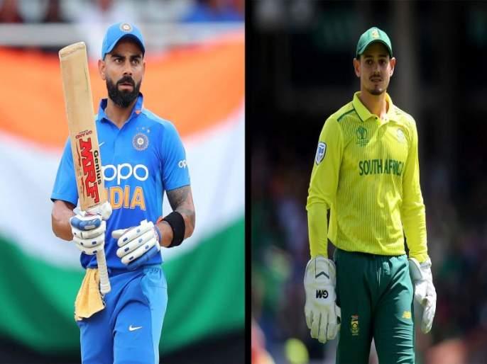 India vs South Africa : Corona also canceled South Africa series against India mac | India vs South Africa : कोरोनामुळे भारत विरुद्ध दक्षिण आफ्रिका मालिकाही रद्द