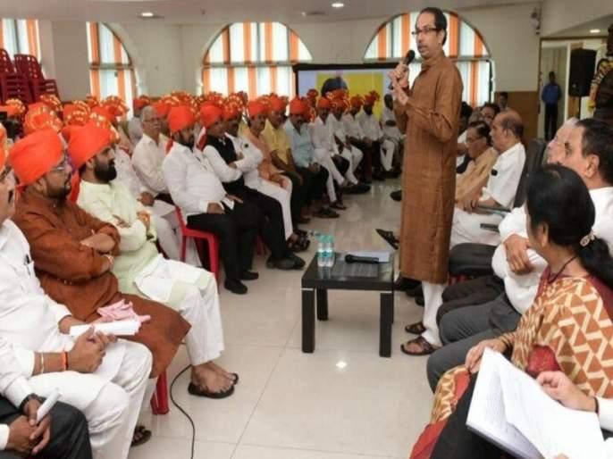CM Uddhav Thackeray evaluates the work of the Shiv Sena MLA | शिवसेनेच्या आमदारांनी कामाचा लेखाजोखा सादर करा; उद्धव ठाकरेंनी दिले आदेश