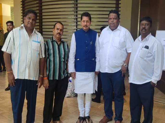 Shiv Sena MLAs meet by Maharashtra Fisheries Action Committee | महाराष्ट्र मच्छिमार कृती समितीने घेतली शिवसेनेच्या आमदारांची भेट