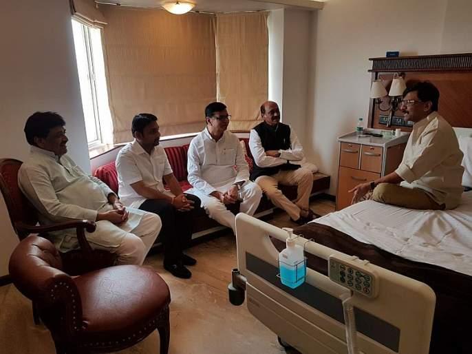 Maharashtra Government : Sharad Pawar knows where the 170 MLA will come from; Sanjay Raut statement | Maharashtra Government : शरद पवारांनाच ठाऊक आहे 170 आमदार येणार कुठून; संजय राऊतांचं सूचक विधान