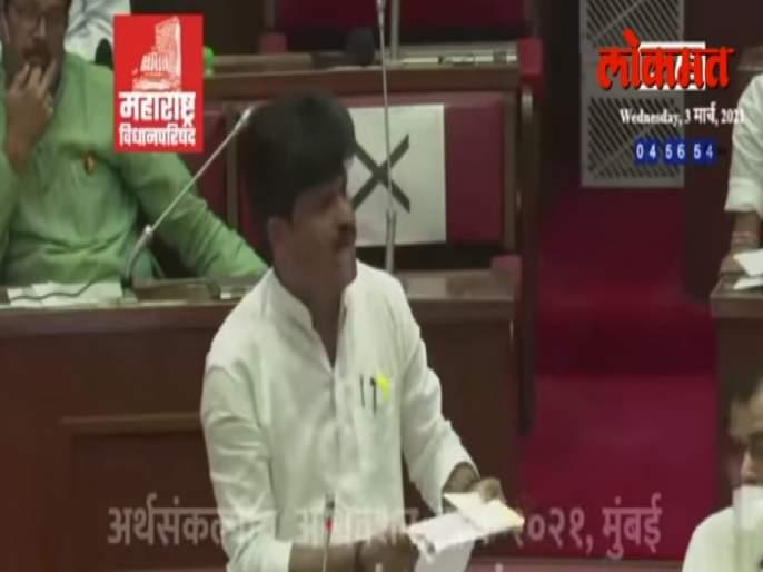 Maharashtra Budget Session: BJP Gopichand Padalkar target Thackeray government | Maharashtra Vidhan Parishad: आमदार गोपीचंद पडळकरांच्या 'त्या' गोष्टीतील गाढव कोण?; तुम्हीच ऐका अन् सांगा...