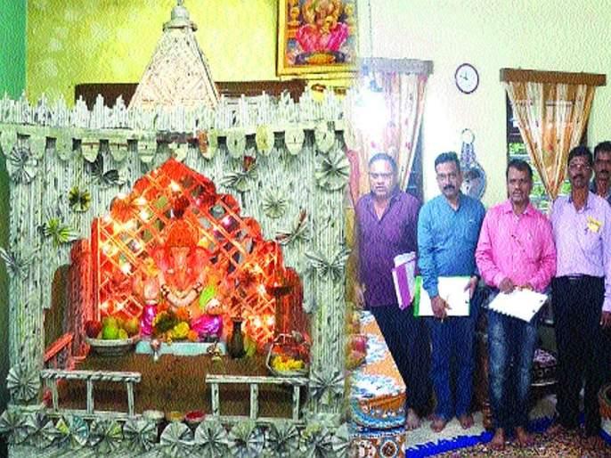 Sachin Thakur, Honrable for nagaradhyaksha chashak | नगराध्यक्ष चषकाचे मानकरी सचिन ठाकू र