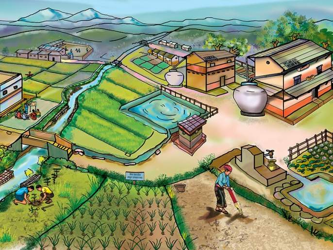 Compitition created in 13 villages in Buldana district for smart village | स्मार्ट ग्रामसाठी बुलडाणा जिल्ह्यातील १३ गावांत चुरस