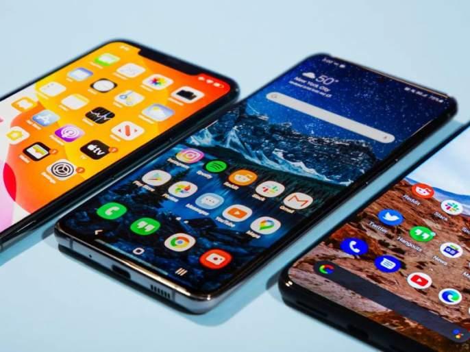 India's smartphone market falls 1.7 per cent | भारतामधील स्मार्टफोन बाजारात १.७ टक्के घसरण; उत्पादकांमध्ये आनंदाचे वातावरण