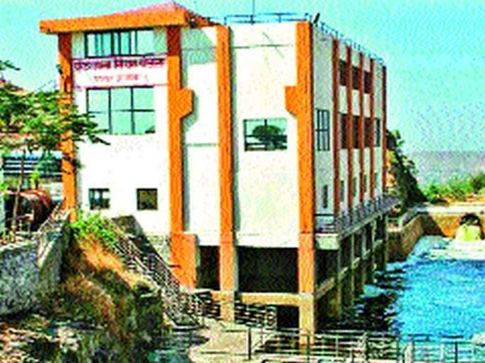 Twenty-four days after the start of the Purandar Upasana scheme   चोवीस दिवसांनंतर पुरंदर उपसा योजना सुरू