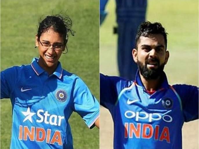 IND vs SA: Virat Kohli and Smriri Mandhana hits century against SA   IND vs SA: 18 नंबरच्या जर्सीची कमाल, विराट कोहली आणि स्मृती मानधनाने ठोकलं शतक