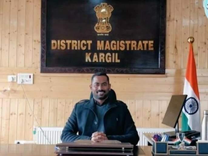 Melghat to Kargil ... Santosh Sukhdeve as Maratha Collector in Kashmir Valley | मेळघाट ते कारगिल... काश्मीर खोऱ्यात जिल्हाधिकारीपदी मराठामोळे संतोष सुखदेवे