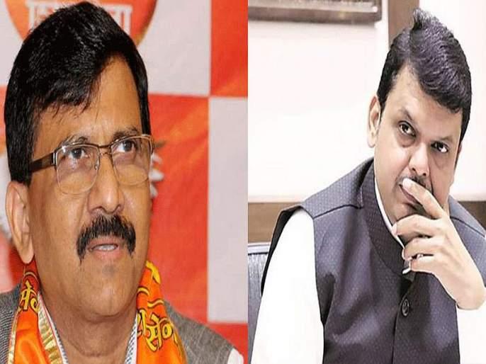 I have no friendship with Sanjay Raut, but ... devendra Fadnavis' advice to the shiv sena leader | संजय राऊतांसोबत माझी मैत्री नाही, पण... फडणवीसांचा 'सामना'वीरास सल्ला