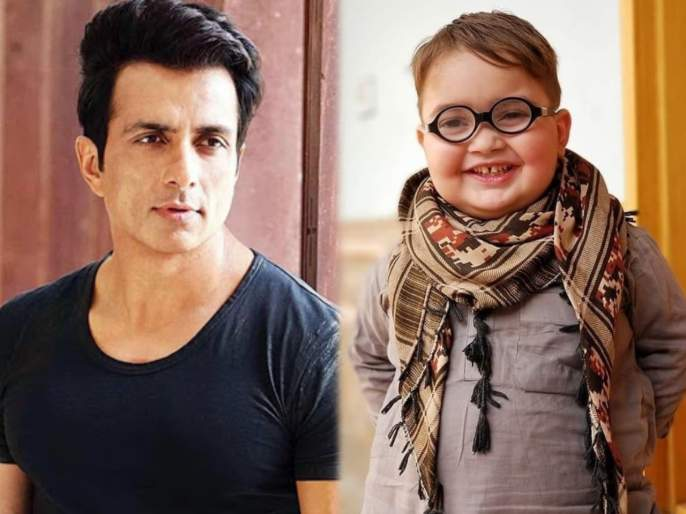 Piche toh dekho fame Ahmed Shah from Pakistan cute message for Sonu Sood | 'पीछे तो देखो' फेम अहमद शाहने सोनू सूदला पाठवला क्यूट मेसेज, व्हिडीओ झाला व्हायरल...