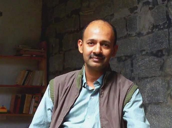 interview of Art critic, Soumik Nandy Majumdar in goa   समाजहितासाठी चित्रकलेचा वापर - शौमिक नंदी मझुमदार