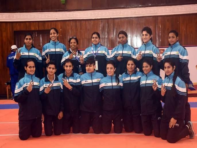Indian Kabaddi men and women team won gold in South Asian Games 2019 | South Asian Games 2019 : दक्षिण आशियाई क्रीडा स्पर्धेत भारताला कबड्डीत दुहेरी सुवर्णपदक
