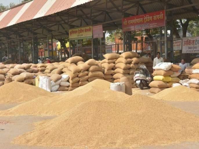 Soybeans rate hike in Akola and washim market | पश्चिम वऱ्हाडात सोयाबीनला झळाळी!