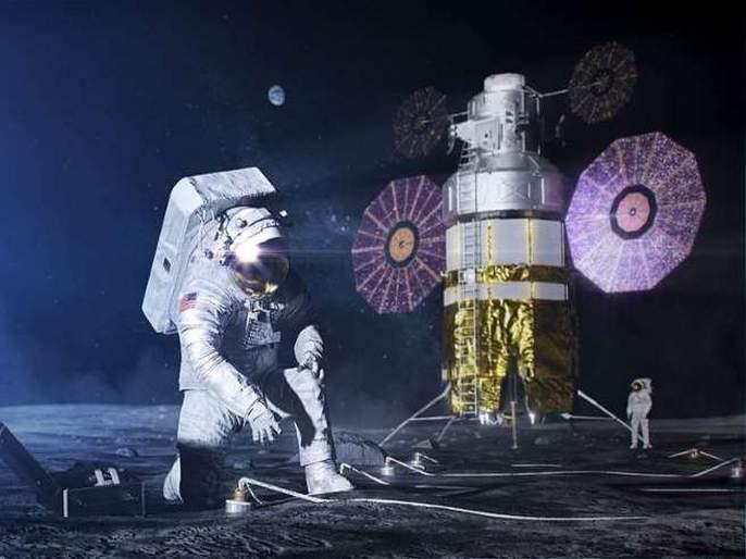 Spacesuits Artemis astronauts wear on the moon NASA | स्पेस सूटचा आतापर्यंतचा प्रवास, नासा तयार करतंय चंद्रावर जाण्यासाठी नवीन स्पेस सूट!