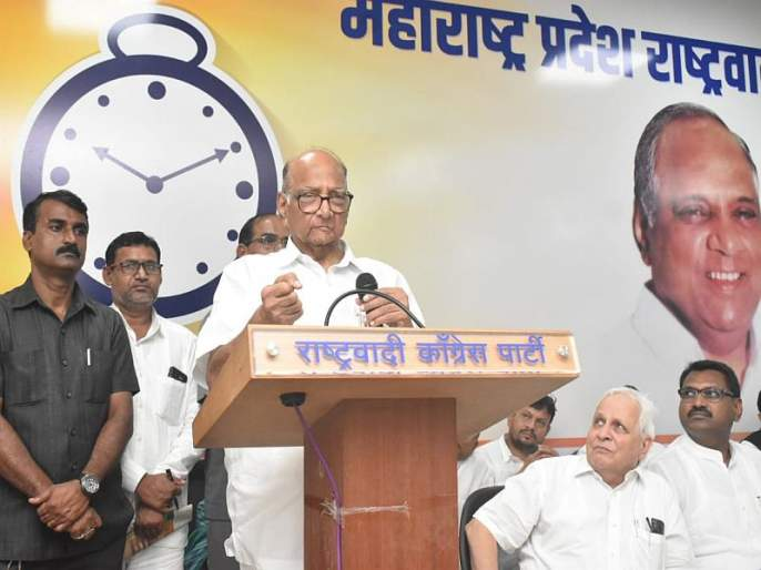 It was my fault that the announcement of the candidates in the beed, sharad pawar says about mumbai | बीडमधील 'उमेदवारांची घोषणा' ही माझी चूक, पवारांनी सांगितलं कारण