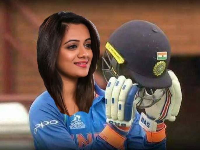 No tension for virat kohli, spruha joshi Solved big problem of team india | विराट कोहलीचं टेन्शन खल्लास, स्पृहा जोशीने दूर केली भारतीय क्रिकेट संघाची मोठी डोकेदुखी
