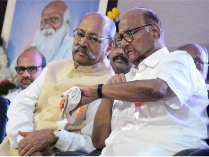 Srinivas Patil took oath of MP in delhi, Sharad Pawar's best friend in Lok Sabha | श्रीनिवास पाटलांनी घेतली खासदारकीची शपथ, पवारांचे जिवलग मित्र लोकसभेत