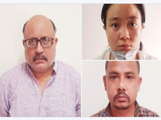 Woman and man arrested with one journalist for spying for China in new delhi | चीनसाठी हेरगिरी करणाऱ्या पत्रकारासह महिला आणि पुरुषासअटक