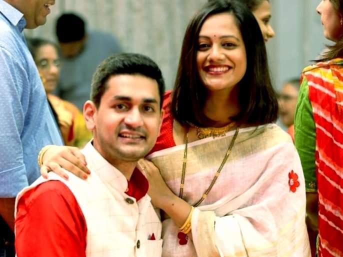 Happy 6th anniversary of Spruha Joshi's marriage, best wishes for sharing photo with Navra Varad | स्पृहा जोशीच्या लग्नाला झाली ६ वर्षे पूर्ण, नवरा वरदसोबतचा फोटो शेअर करत दिल्या शुभेच्छा