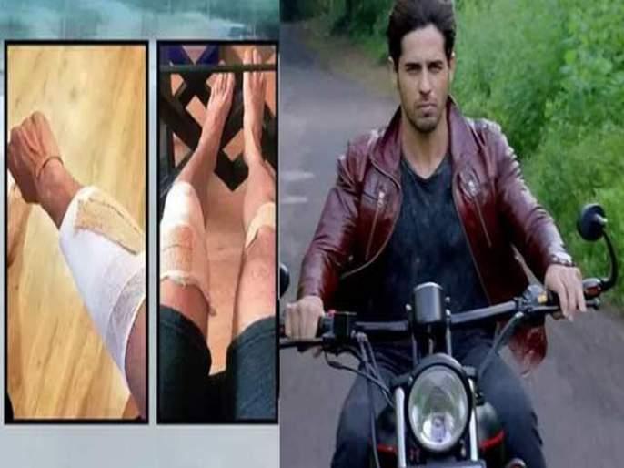 Sidharth Malhotra Bike Slips And He Meets With An Accident During Shershaah Kargil Schedule | अपघातातून थोडक्यात बचावला सिद्धार्थ मल्होत्रा, हातापायाला झाली दुखापत