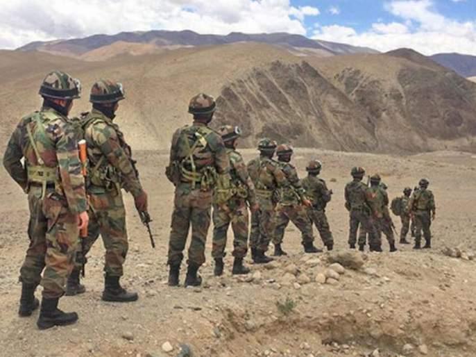 Increased military support on the eastern Ladakh border | पूर्व लडाख सीमेवर वाढीव लष्करी कुमक