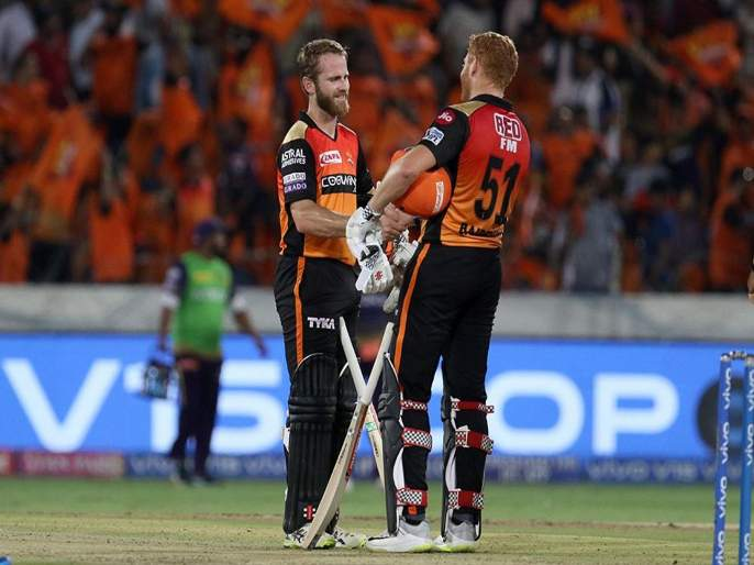 IPL 2019 SRH vs KKR : हैदराबादचा दणदणीत विजय, कोलकातावर संकट | IPL 2019 SRH vs KKR : हैदराबादचा दणदणीत विजय, कोलकातावर संकट