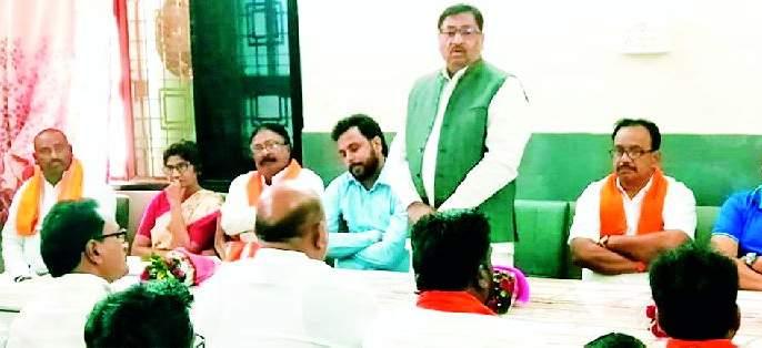 Shiv Sena will take aggressive role for crop insurance | पीक विम्याकरिता शिवसेना घेणार आक्रमक भूमिका