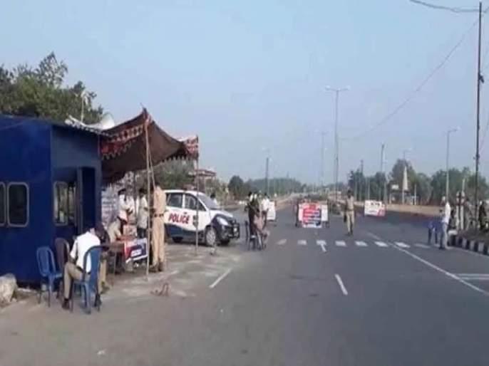 Karnataka police nab Cogonoli; Necessary service of Maharashtra halted | कर्नाटक पोलिसांची कोगनोळी नाक्यावर आरेरावी; महाराष्ट्राची अत्यावश्यक सेवाही अडविली