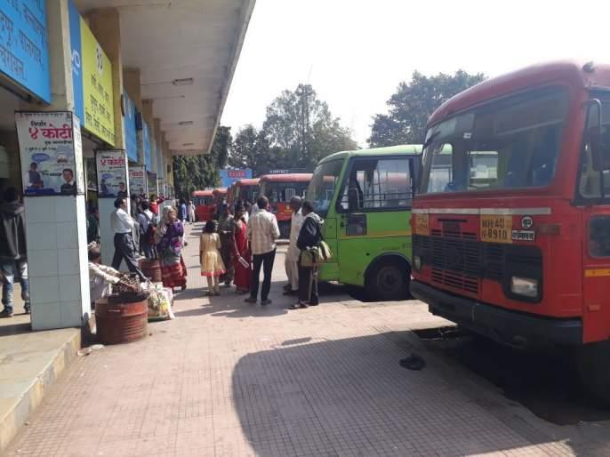 Due to Bandh Nagpur division, the ST corporation suffered a loss of Rs 30 lakh | नागपूर विभागात बंदमुळे एसटी महामंडळाला ३० लाखांचा फटका