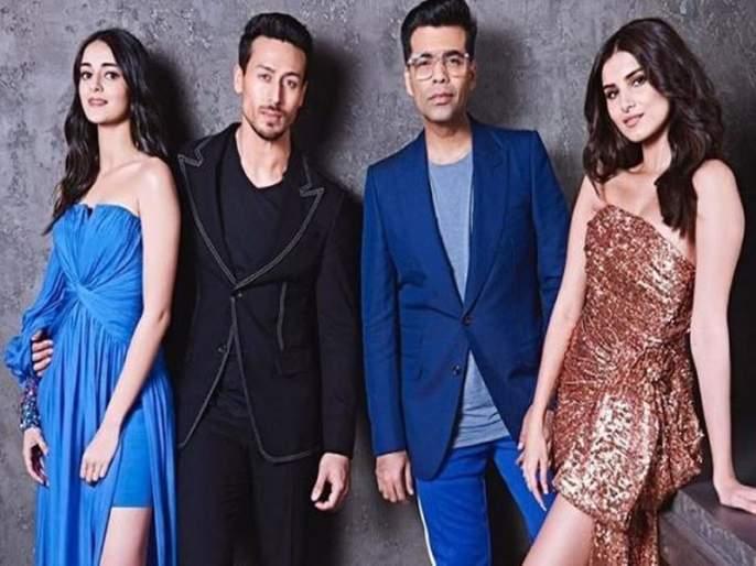 Karan Johar's New Student coming in his Coffee Show, before silver screen will be seen | करणच्या 'कॉफी'चा आस्वाद घ्यायला येणार त्याचे नवे स्टुडण्ट्स, रुपेरी पडद्याआधी दिसणार पहिली झलक