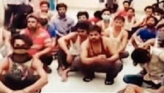 700 Indian workers released from Saudi jails   सौदीमध्ये तुरुंगात अडकलेल्या ७०० भारतीय कामगारांची सुटका