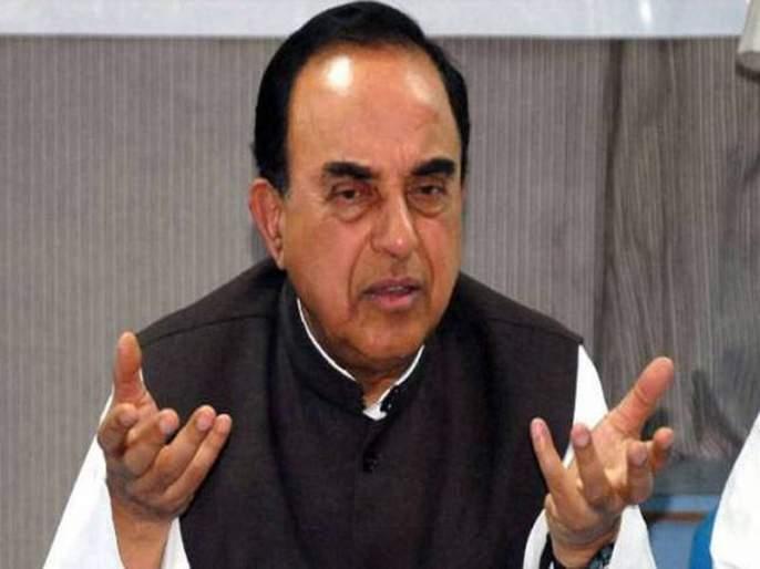 If the economy goes down, the victory of Ram temple will not save the BJP | ...तर राम मंदिराचा विषयही भाजपाला तारू शकत नाही- सुब्रमण्यम स्वामी