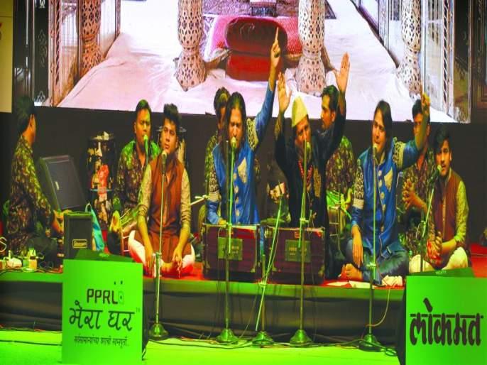 'Sufi'ana' guesses Jalgaonkar, Nizami brothers support   'सुफीयाना' अंदाज जळगावकरांना भावला, निजामी बंधूंना दाद