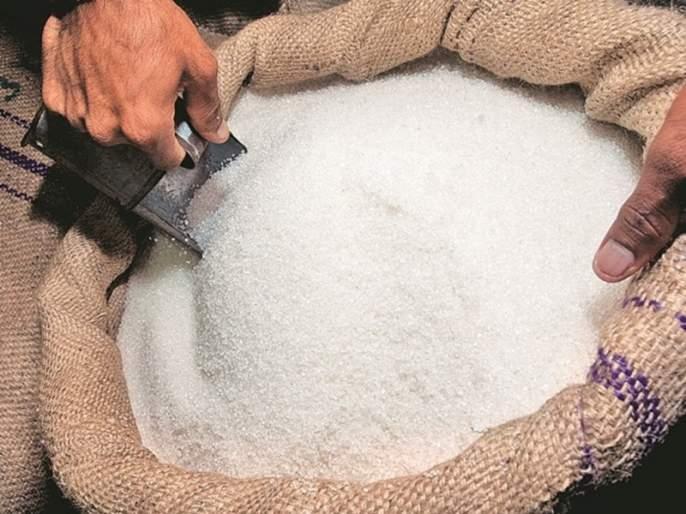 The country has so far exported 48 lakh tonnes of sugar   देशातून आतापर्यंत झाली ४८ लाख टन साखर निर्यात