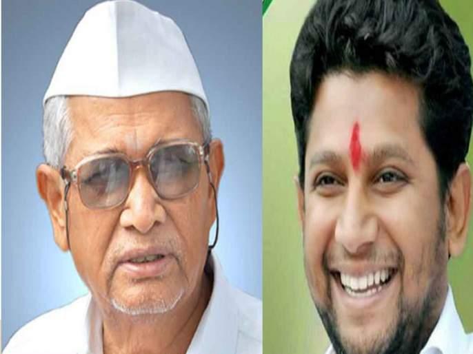 Grandfather's Record Break: Young Member of the Dr Sujay Vikhe District, 37-year-old parliament | आजोबांचे रेकॉर्ड ब्रेक : डॉ.सुजय विखे जिल्ह्यातील तरुण खासदार,३७ व्या वर्षी संसदेत