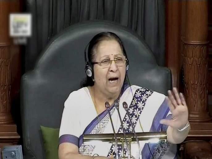 Sumitra Mahajan urge MP's to not do politics on Dalit   दलितांचं भलंही नको आणि राजकारणही करायचं आहे हे चालणार नाही, सुमित्रा महाजन यांनी सुनावलं