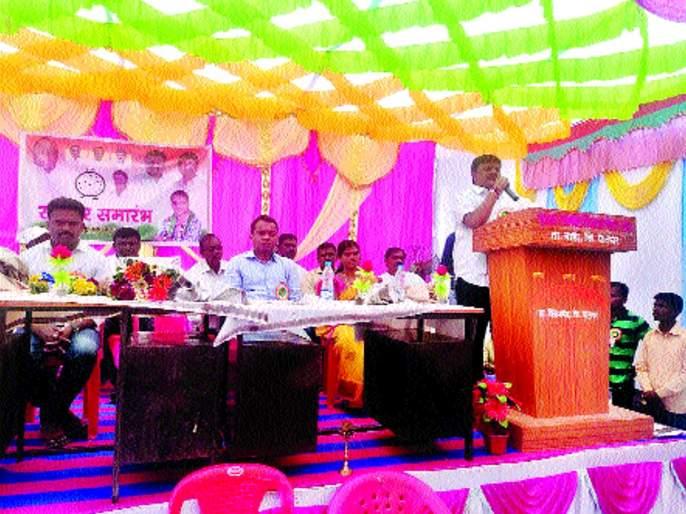Jawar to regain sub-district status - Sunil Bhusara   जव्हारचा उपजिल्हा दर्जा परत मिळवणार - सुनील भुसारा