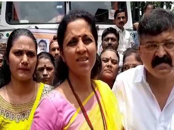 Supriya sule support of Raj Thackeray family in case of ED investigation | राज ठाकरेंच्या कुटुंबीयांच्या पाठिशी सुप्रिया'ताई', दमानियांच्या टीकेला प्रत्युत्तर