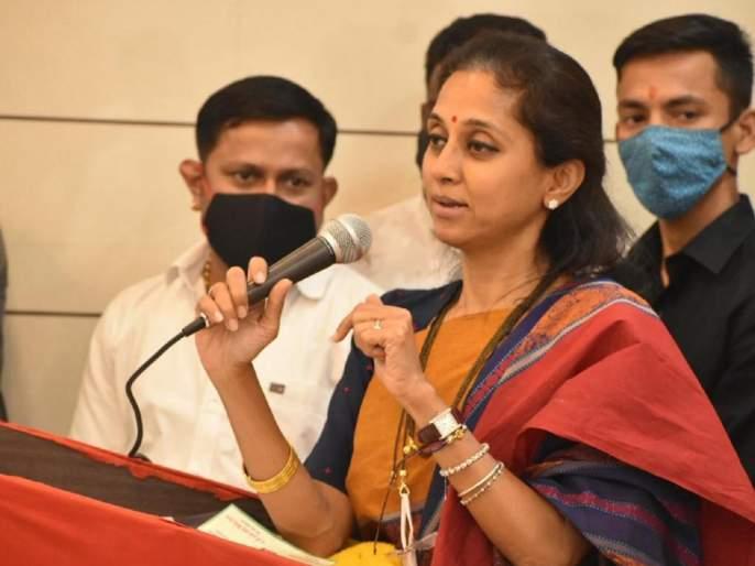 ncp leader mp supriya sule criticize pm narendra modi pmo mann ki baat farmers protest sharad pawar | पंतप्रधान 'मन की बात' किंवा भाषणात चांगलं बोलतात, परंतु कृती काहीच करत नाहीत : सुप्रिया सुळे