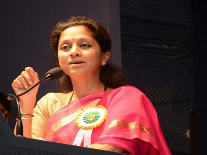 supriya sule comment on sambhaji bhide called sangli band against sanjay rauts statement about udayanraje bhonsle | 'सांगली बंद'मागे राजकीय षडयंत्र, सुप्रिया सुळेंचा भाजपावर निशाणा