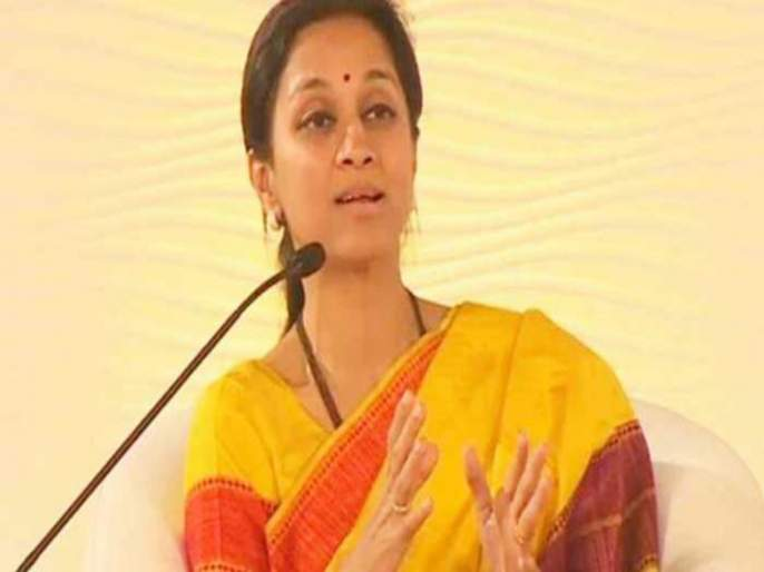 Supriya sule does not match 'she' language : Vijaya Rahatkar | सुसंस्कृत सुप्रियांना ' ती ' भाषा शोभत नाही : विजया रहाटकर