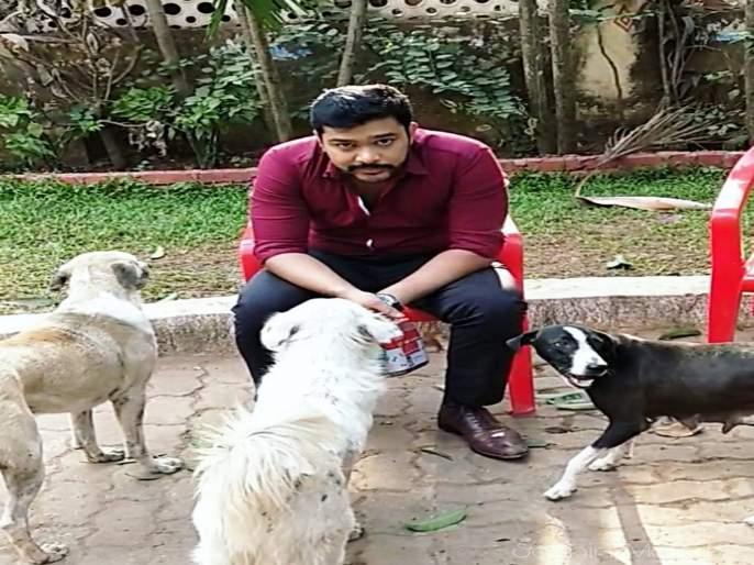 Suyash Tilak Love Pet | 'मंतरलेलं घर' मालिकेच्या सेटवर पाहायला मिळतं सुयशचं प्राणीप्रेम !